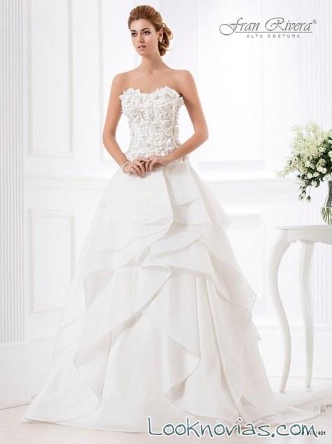 vestido novias fran rivera
