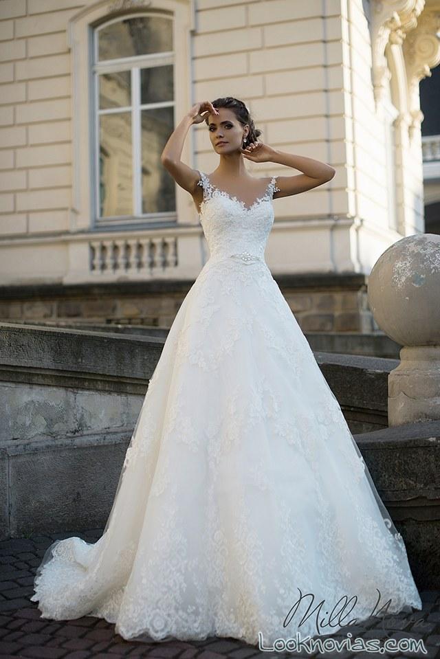 vestido novias milla nova