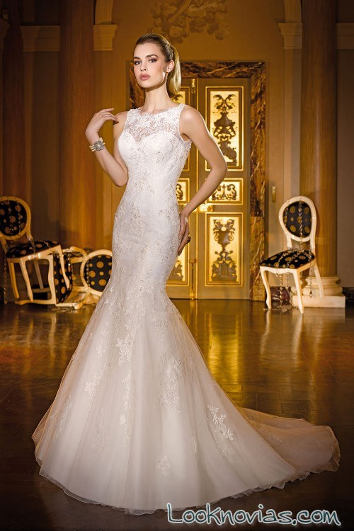 vestido novias miss kelly cortes fantasía