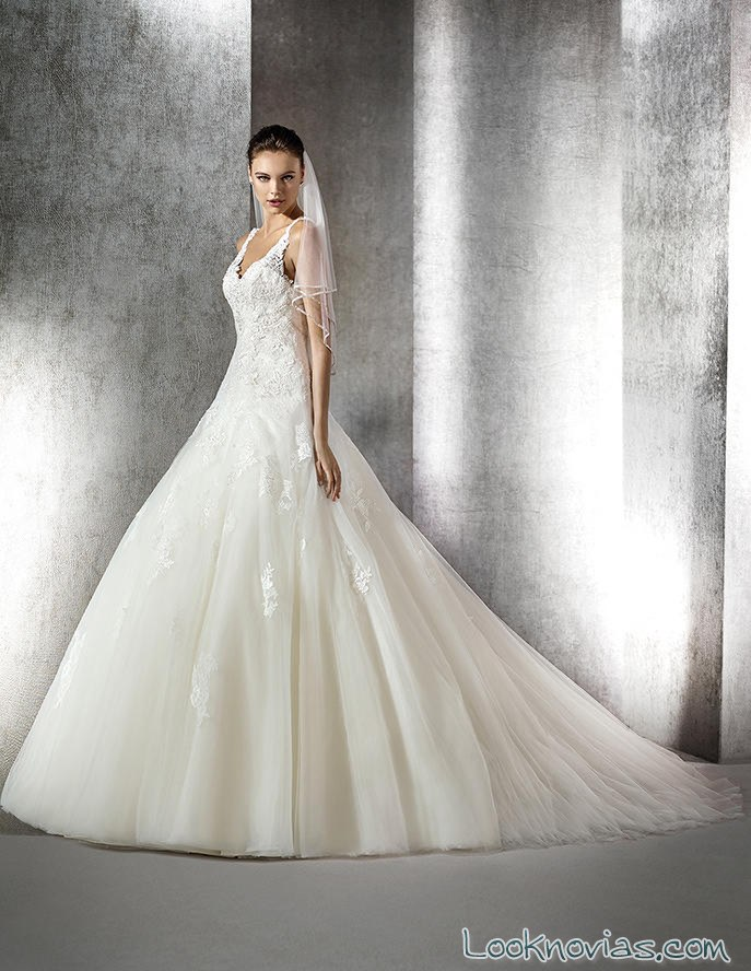 vestido novias princesas 2016