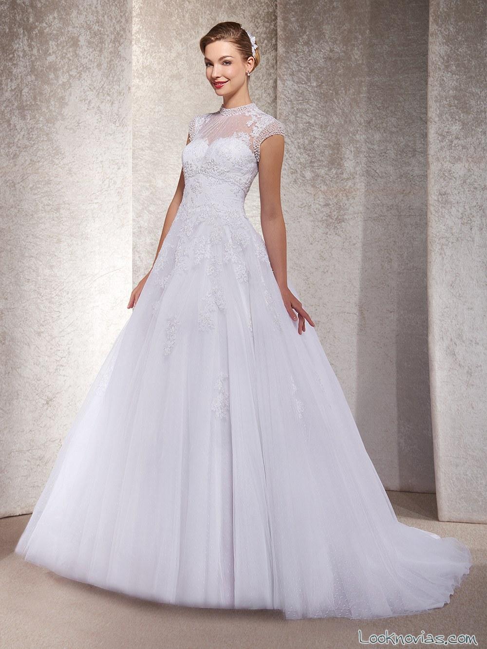 vestido novias princesas 2017 annie couture