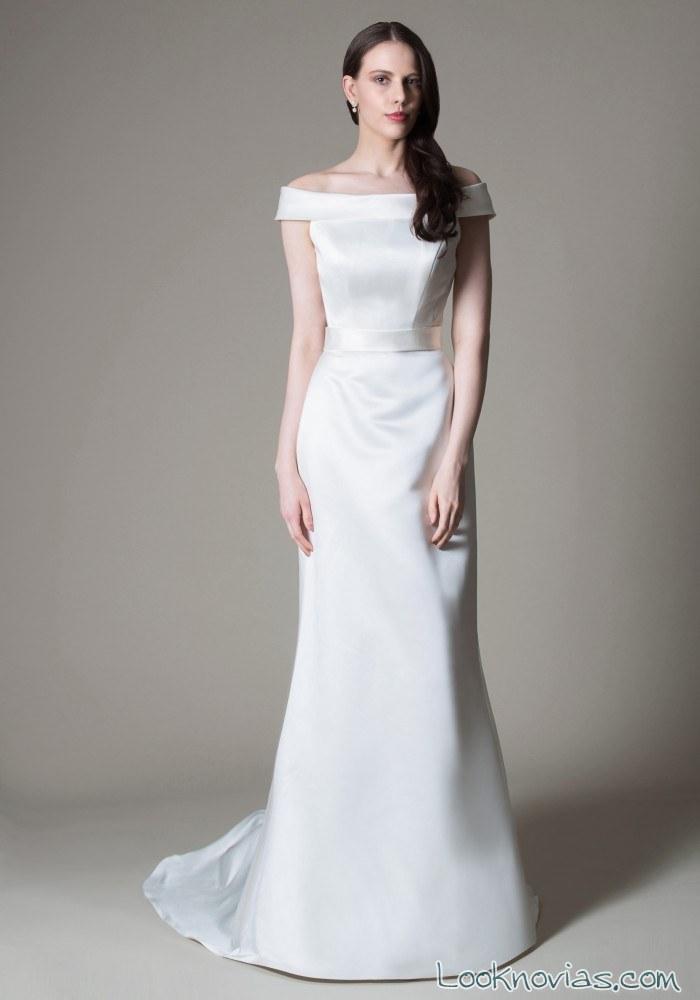vestido novias recto mia mia
