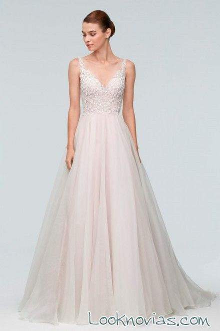 vestido novias sencillo watters