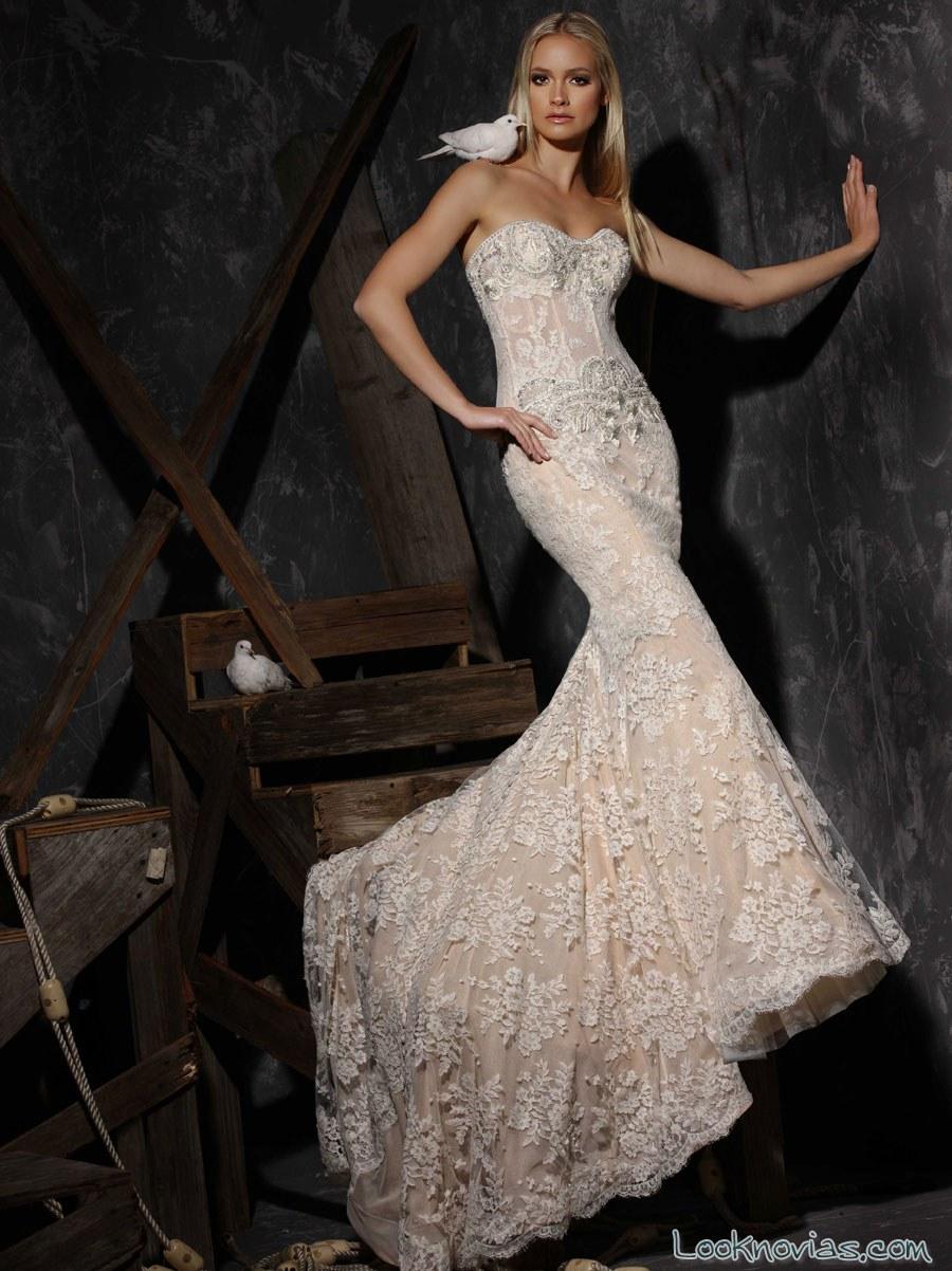 vestido nude victor harper