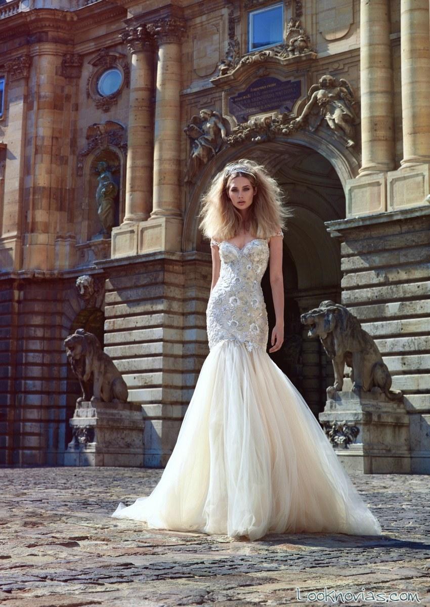 vestido nueva colección de novia galia lahav