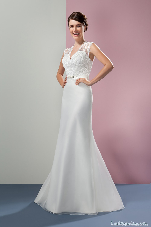 vestido orea sposa satinado