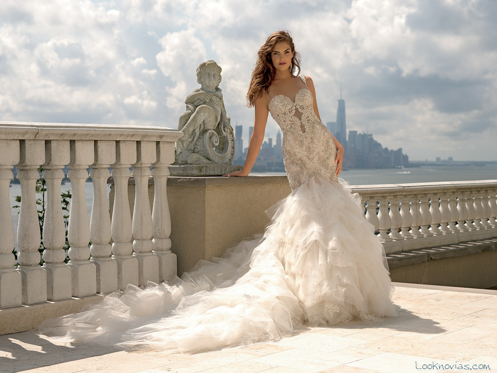 vestido original sirena novias eve of milady
