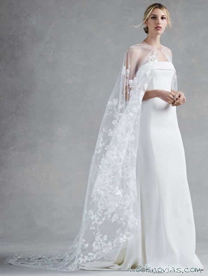 vestido oscar de la renta bridal 2017
