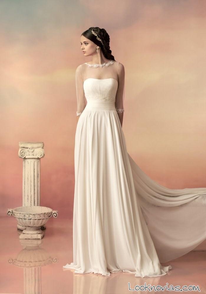 vestido papilio corte griego