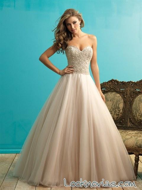 vestido princesa allure bridals