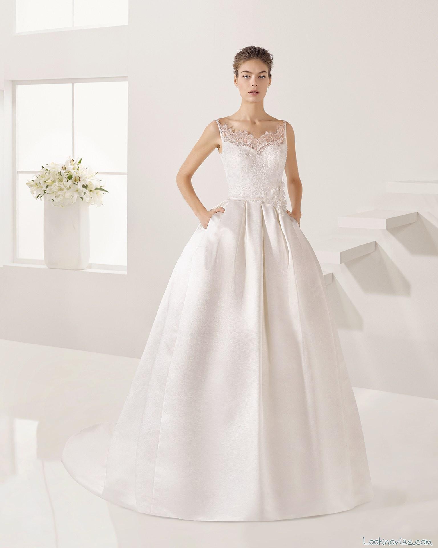vestido princesa alta costura alma novia