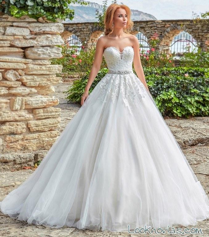 vestido princesa amanda divelli 2017