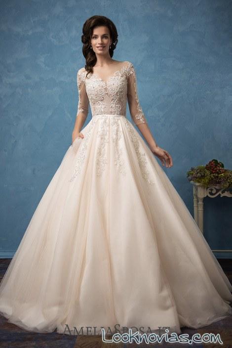 vestido princesa amelia sposa 2017