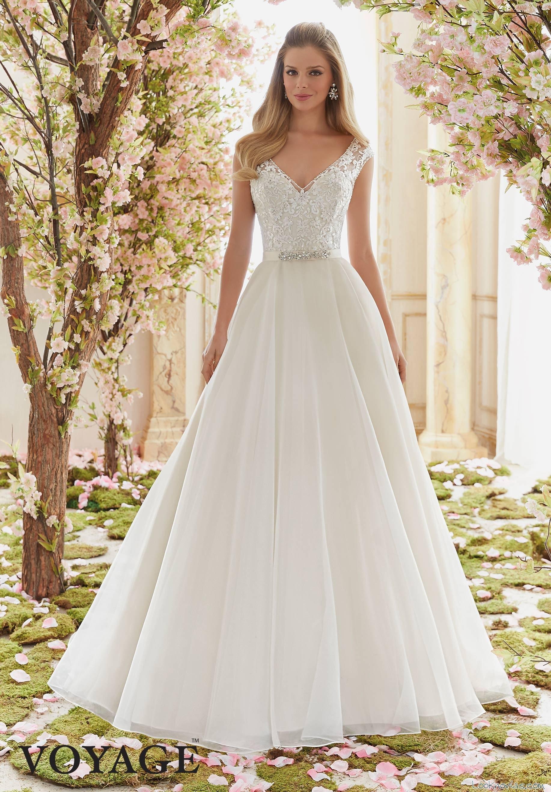 vestido princesa angelina faccenda en blanco