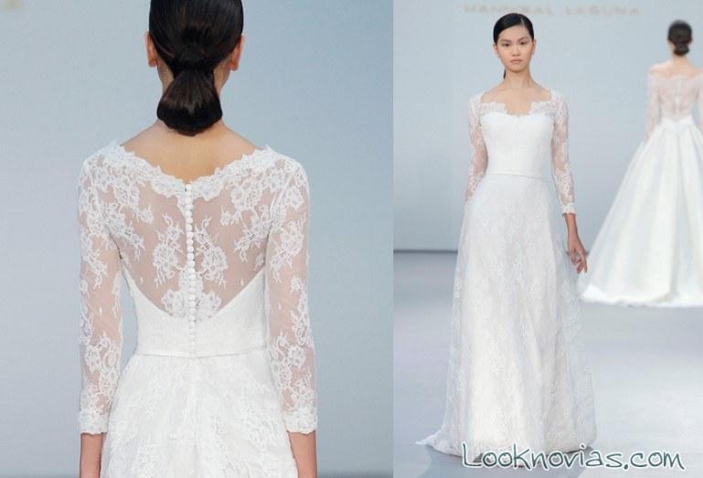 vestido princesa blanco hannibal laguna