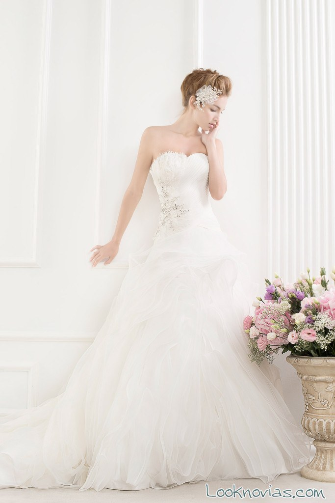 vestido princesa blanco rico a mona