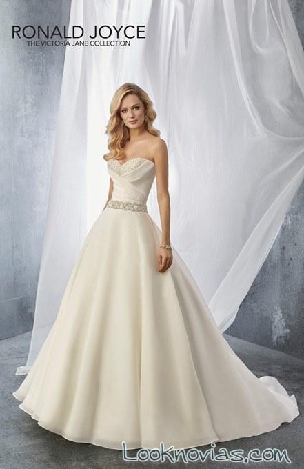 vestido princesa bordado ronald joyce