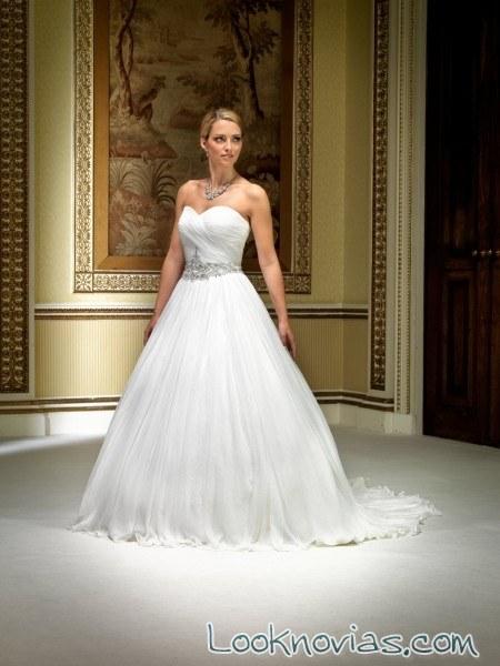 vestido princesa de grace harrington