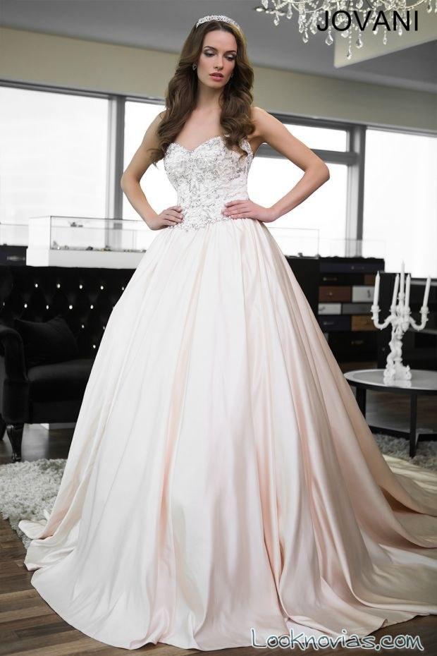 vestido princesa de jovani