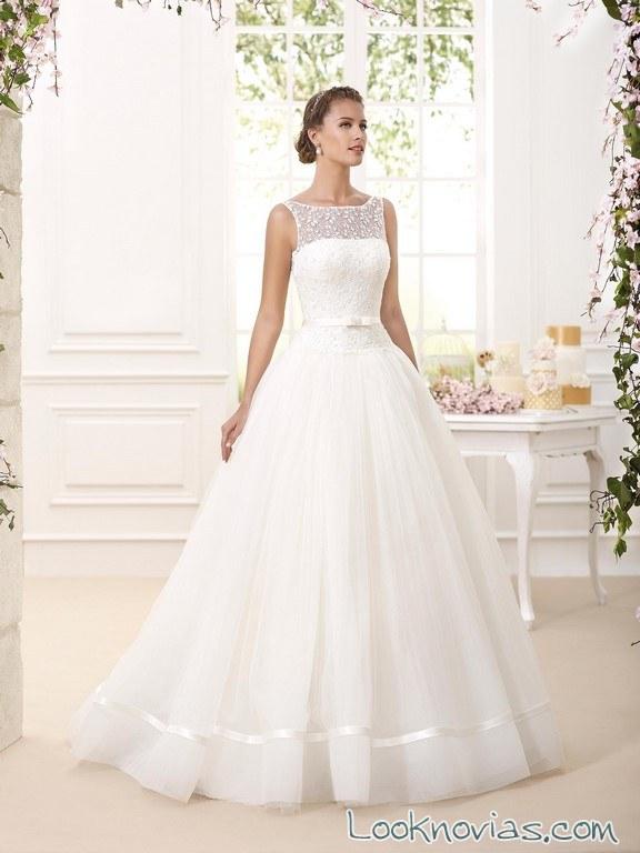 vestido princesa de novia d´art 2016