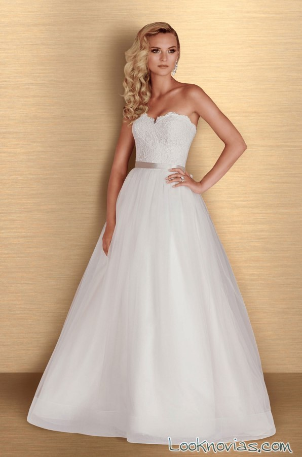 vestido princesa de paloma blanca 2016