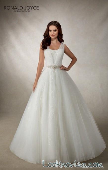 vestido princesa de tul joyce