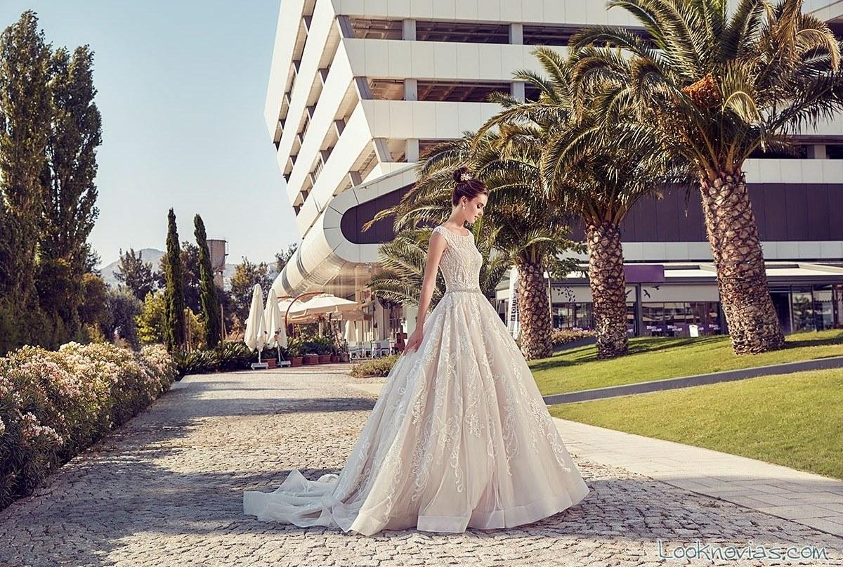 vestido princesa eddy k 2017