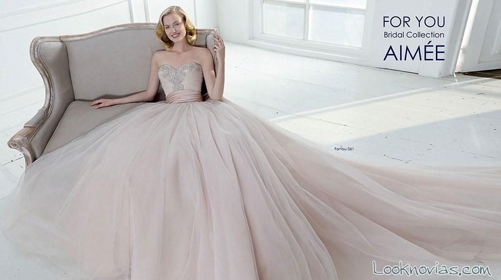 vestido princesa en color de aimée