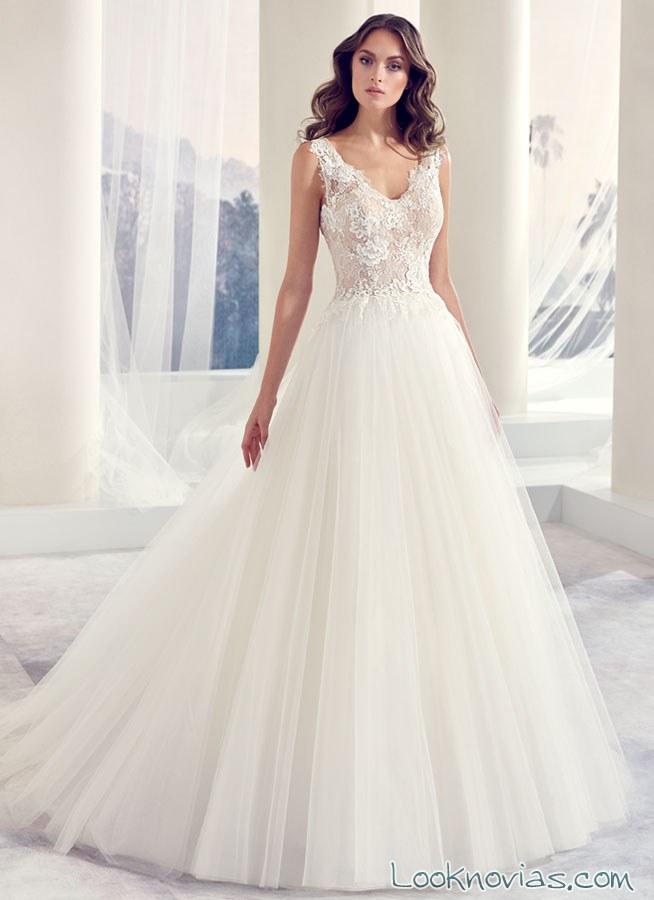 vestido princesa modeca novias 2017