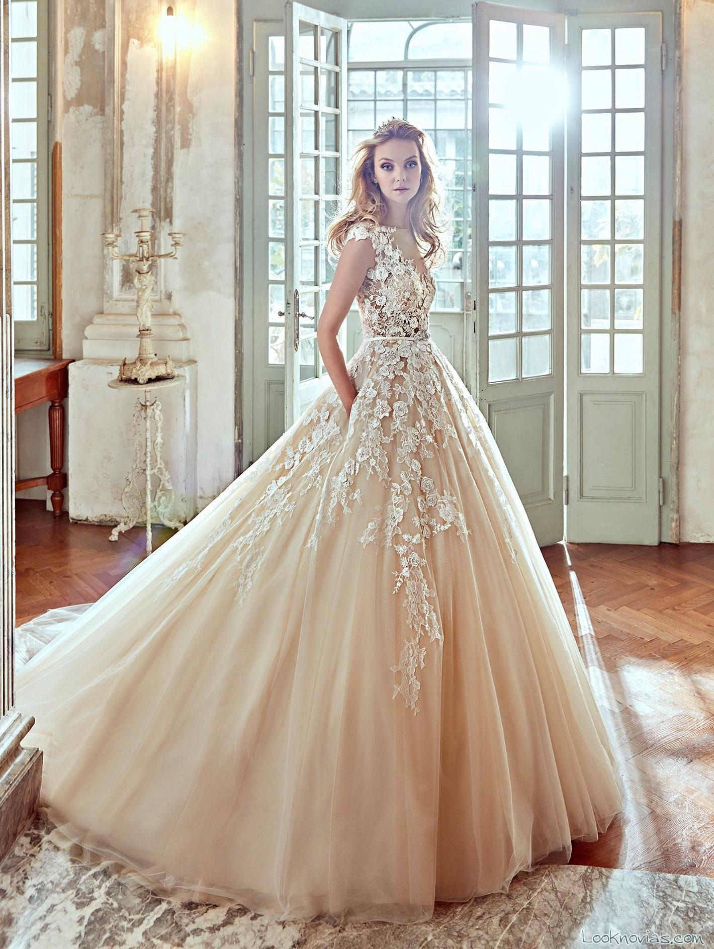vestido princesa nicole color