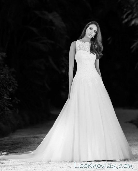 vestido princesa novia maria karin