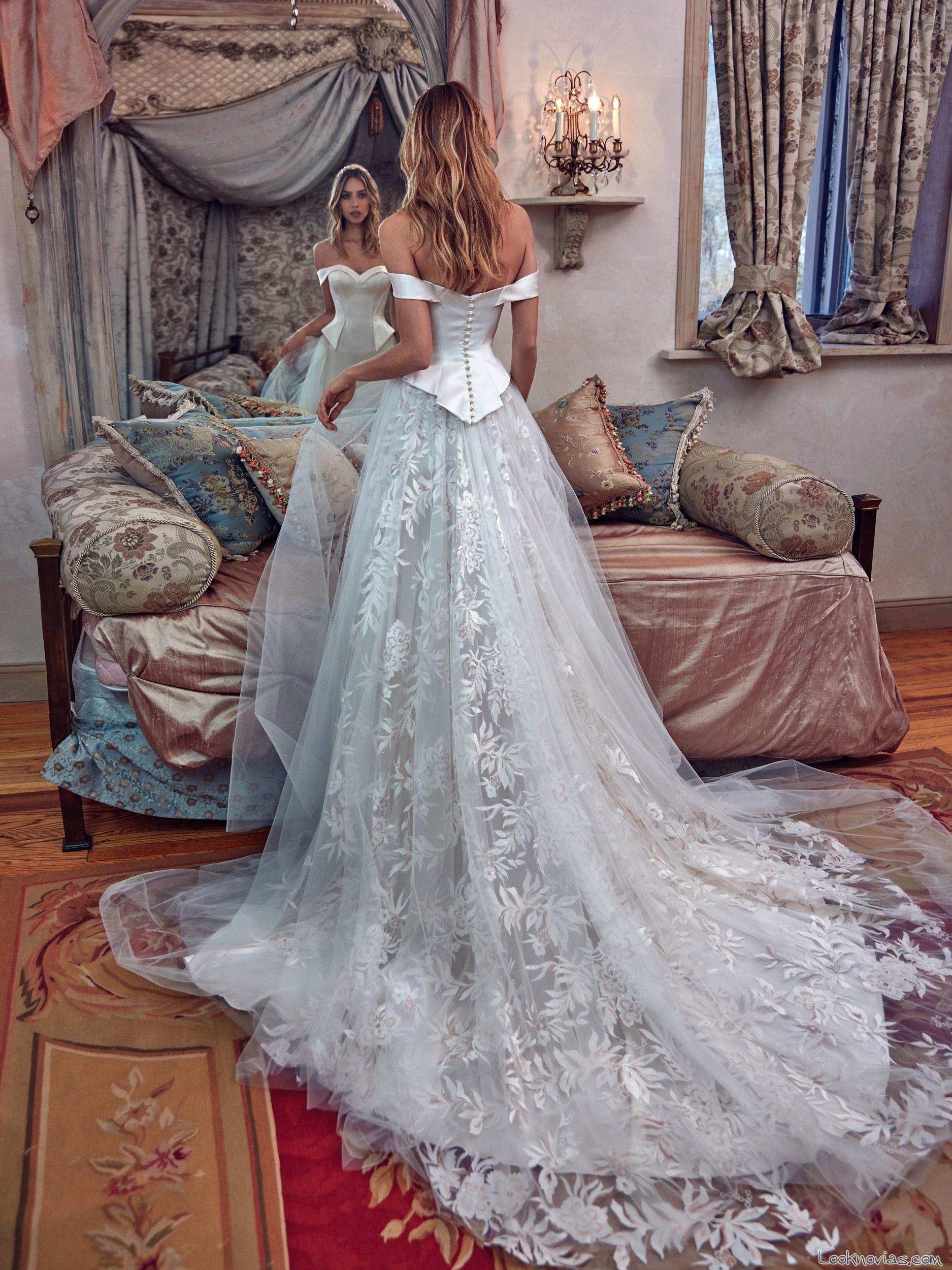 vestido princesa novias galia lahav