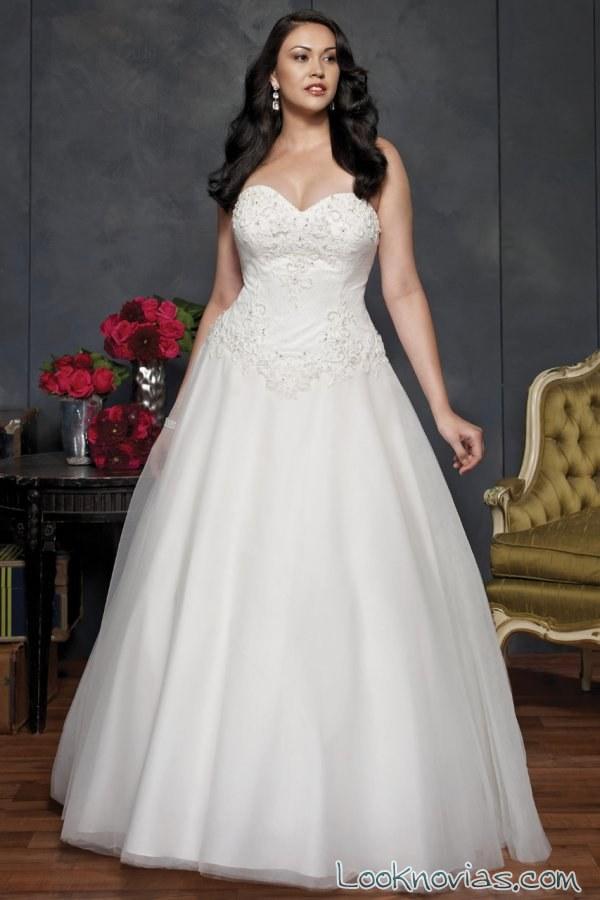 vestido princesa novias kenneth winston