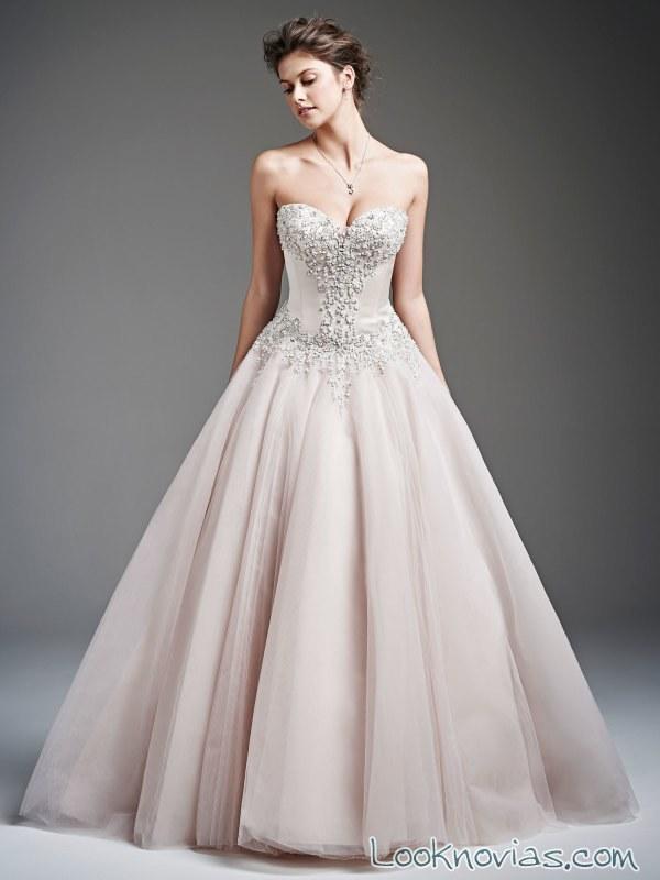 vestido princesa para novias kenneth winston