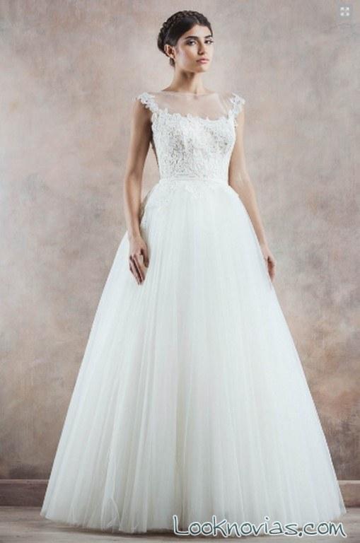vestido princesa poesía novias