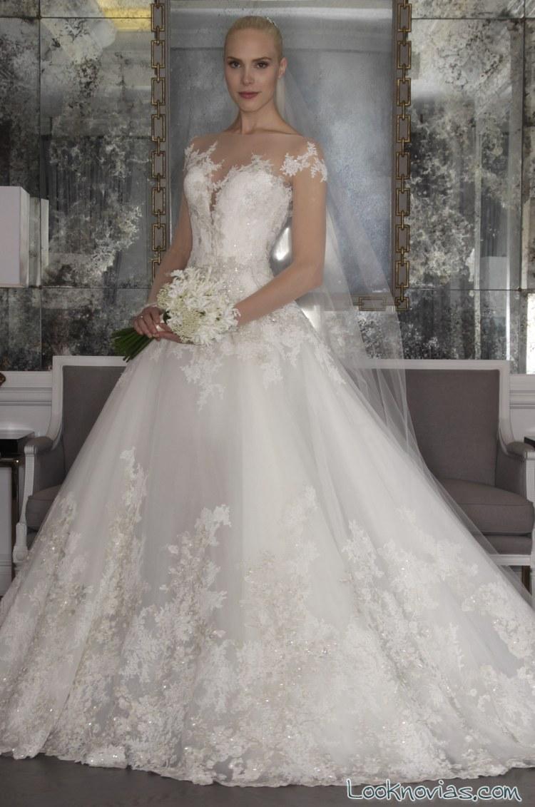 vestido princesa romona keveza 2016