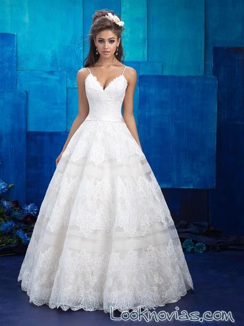 vestido princesa trajes de novia