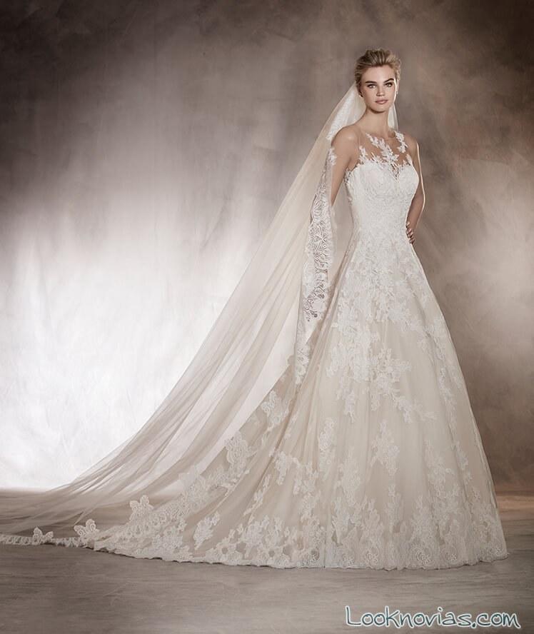 vestido pronovias princesa 2017