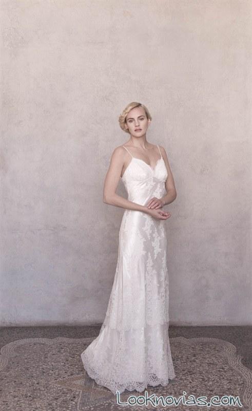 vestido recto 2016 de amanda garrett