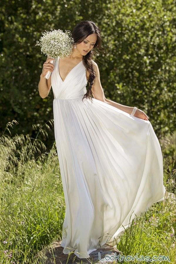 vestido recto alyssa kristin
