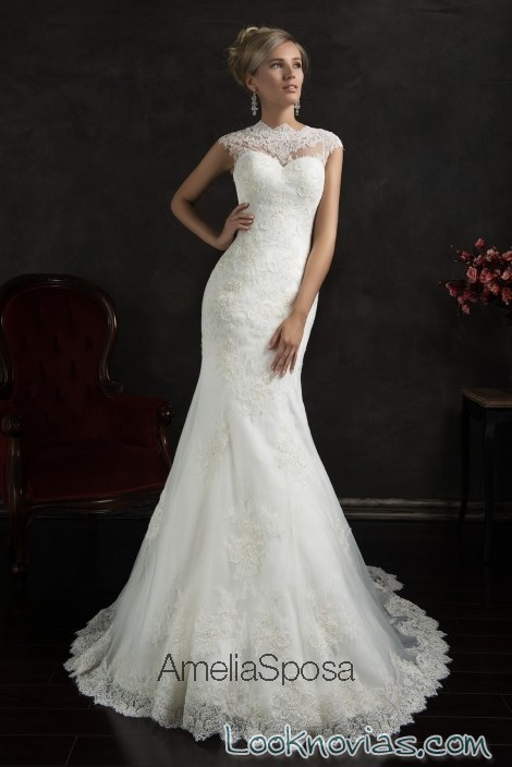 vestido recto amelia sposa