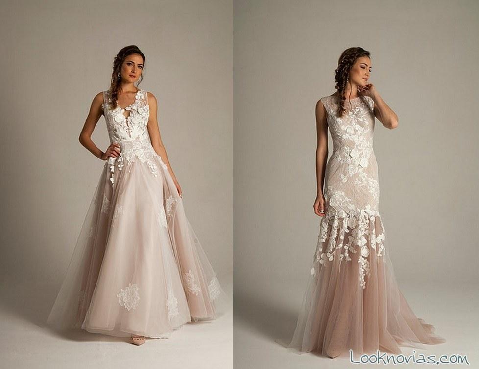 vestido recto con color eugenia couture