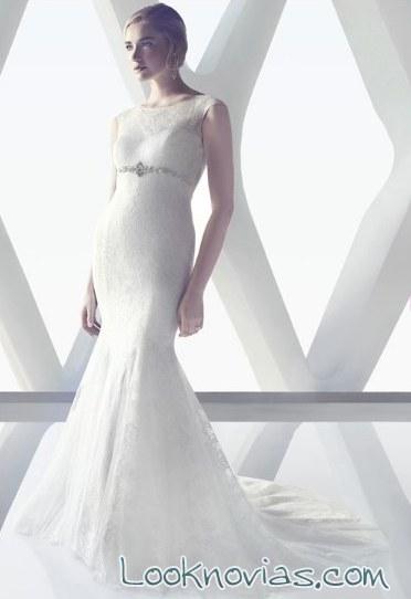 vestido recto de alta costura cb couture