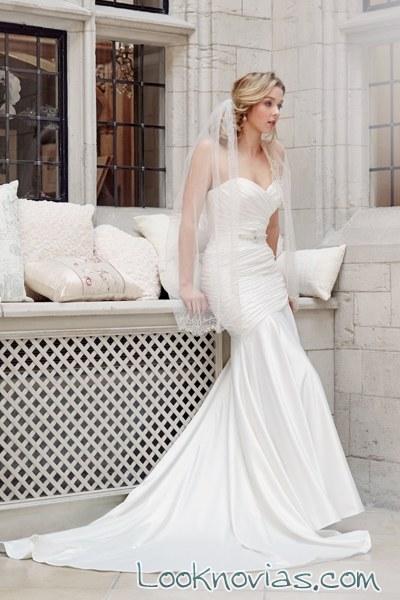 vestido recto de tia bridal 2016
