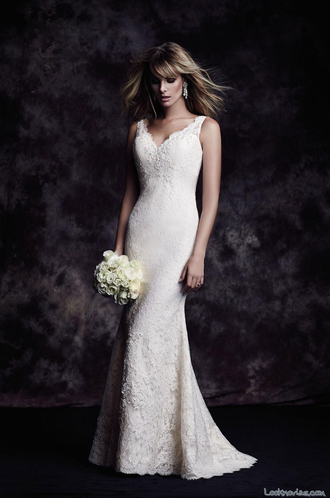 vestido recto elegante de paloma blanca