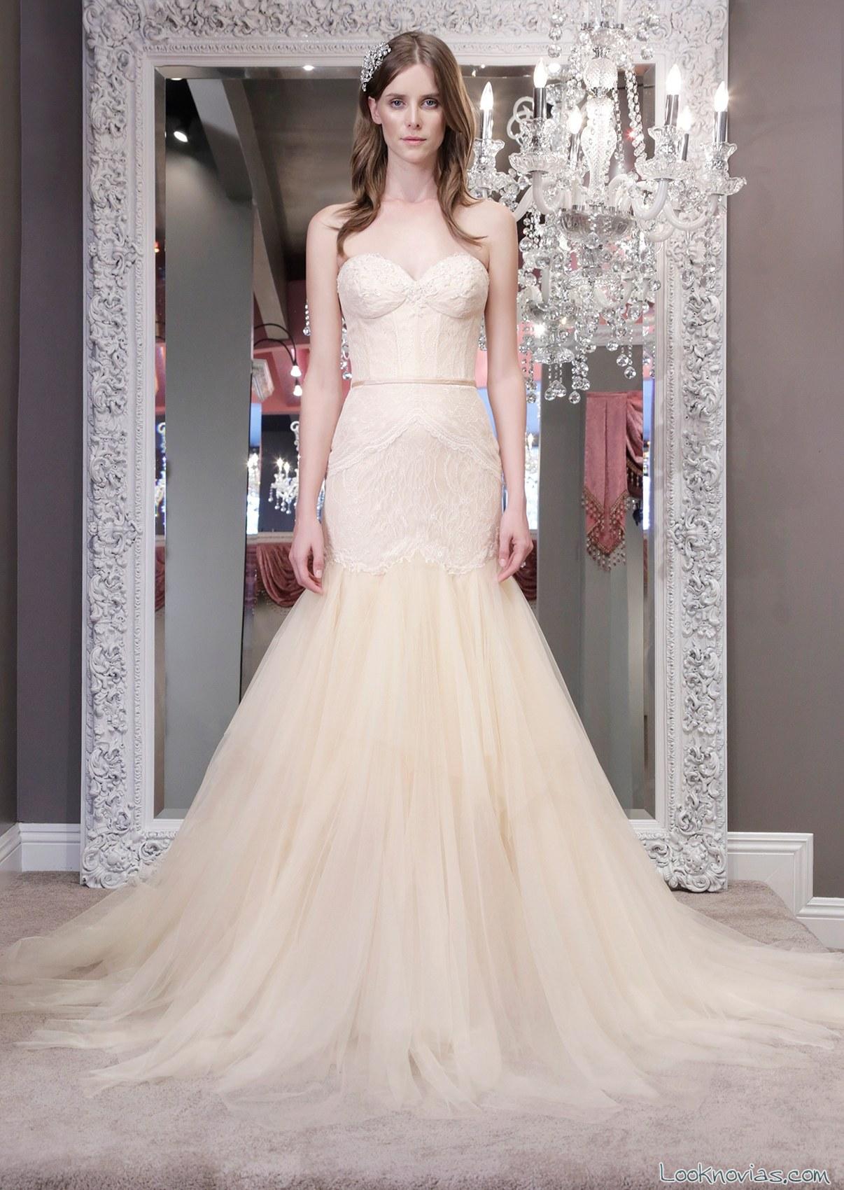vestido recto en color winnie couture