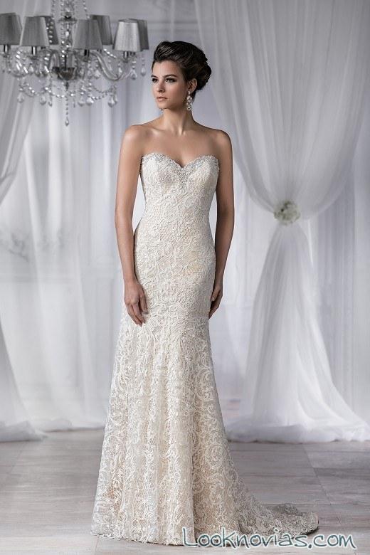 vestido recto jasmine bridal alta costura