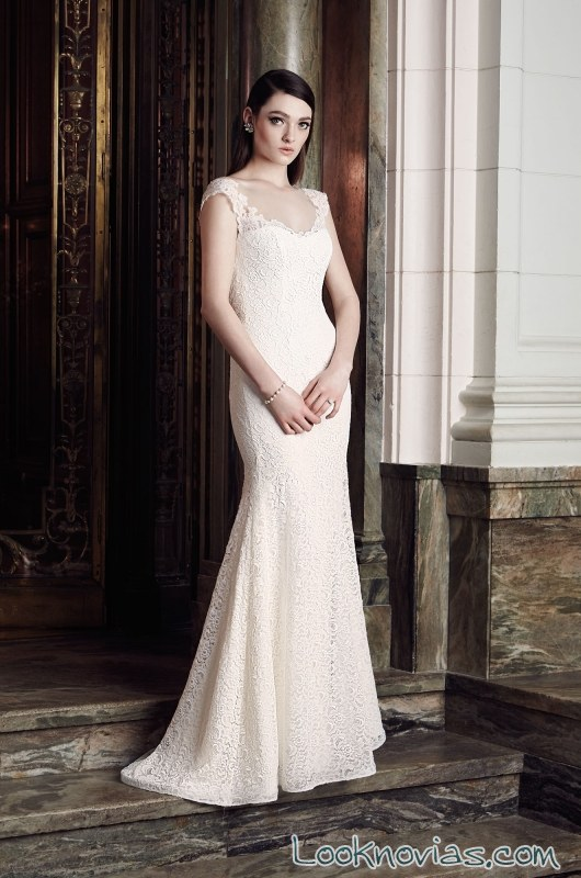 vestido recto mikaella bridal