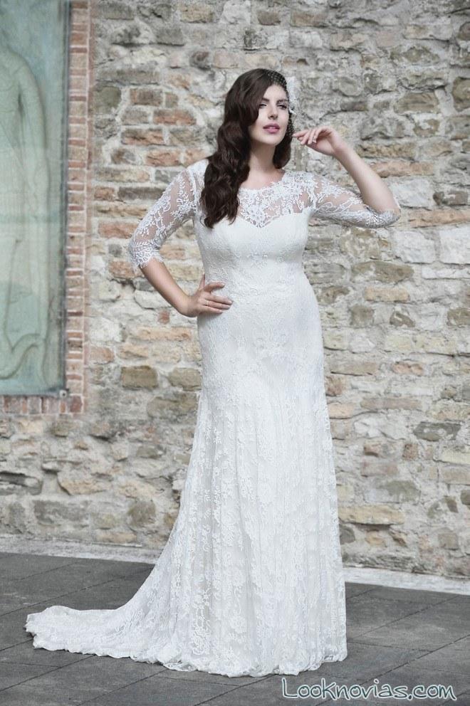 vestido recto novias en blanco agnes fashion