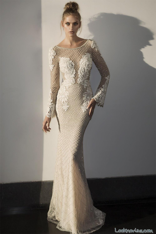vestido recto novias hadas cohen